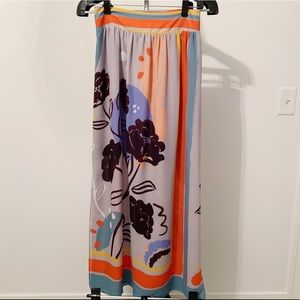 Maeve - Anthropologie Floral Maxi Skirt - XSmall